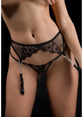 Suspender Belts Folies By Renaud Lili