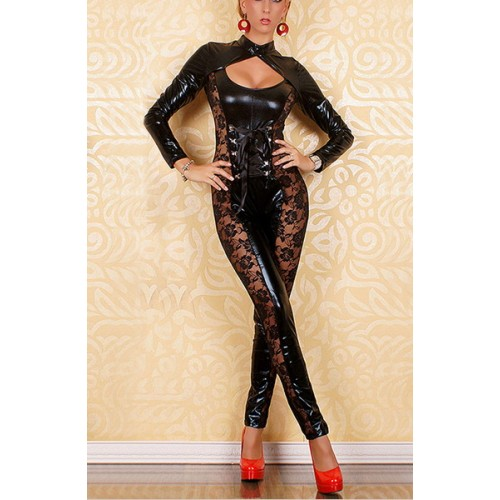 Fashion Vinyl Bodysuit